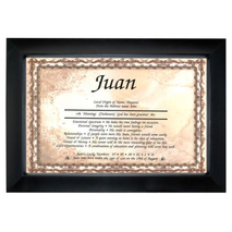 First Name Frame (Individual)